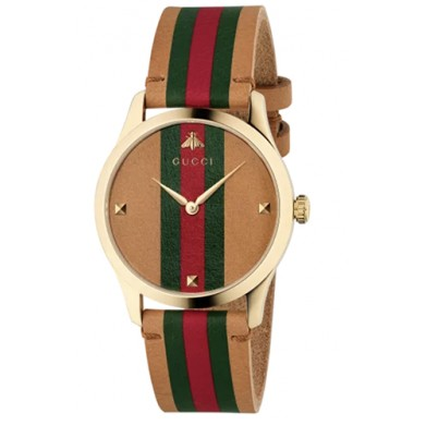 RELOJ GUCCI G-TIMELESS MD BROWN GRG
