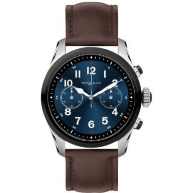 RELOJ MONTBLANC SUMMIT, BICOLOR STEEL-BROWN