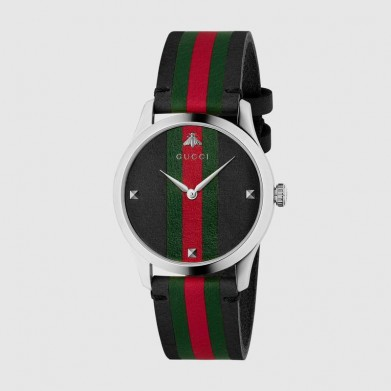 RELOJ GUCCI G TIMELESS BLACK GRG