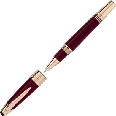 ROLLERBALL MONTBLANC HOMAGE TO KENNEDY BURGUNDY