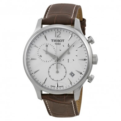 RELOJ TISSOT TRADITION STEEL BROWN