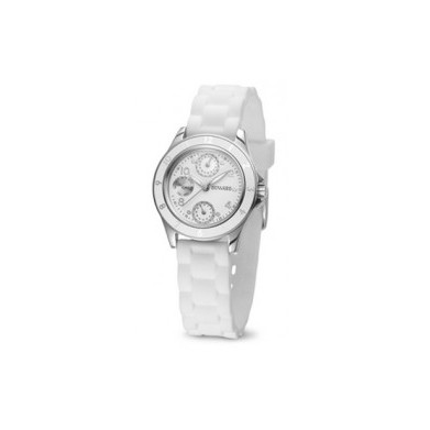 RELOJ BLANCO DUWARD MULTIFUNCION