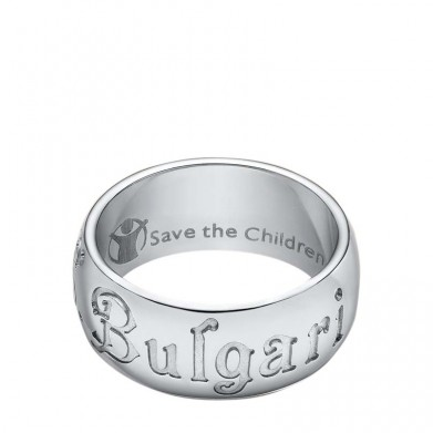 SORTIJA BULGARI SAVE THE CHIDREN PLATA T-52