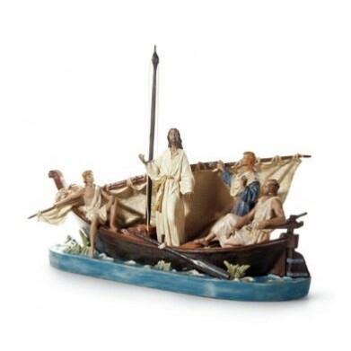 FIGURA LLADRO JESUS EN EL TIBERIAFES SL